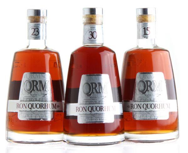 Ron QUORHUM Set 15 + 23 + 30 Years Rum