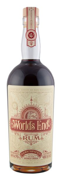45,50€/L WORLD'S END Dark Spiced Rum