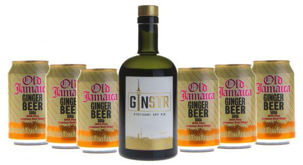 Cocktailpaket London Buck mit GINSTR und Old Jamaica Ginger Beer