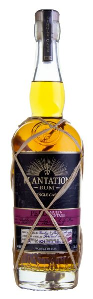 PLANTATION Peru 2004/2006/2010 Single Cask Rum Willet Rye Whiskey Cask Finish - Limited Edition