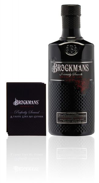 BROCKMANS Intensely Smooth Premium Gin - inklusive Booklet