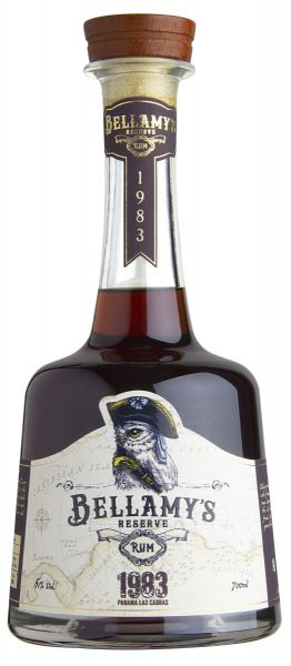 392,86€/L BELLAMY'S Reserve Rum Panama 1983 Single Cask