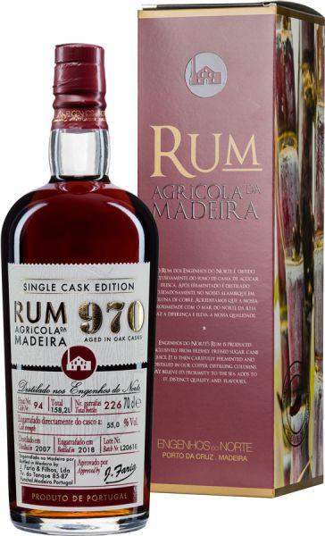 RUM 970 Agrícola da Madeira Single Cask 2007 Rum