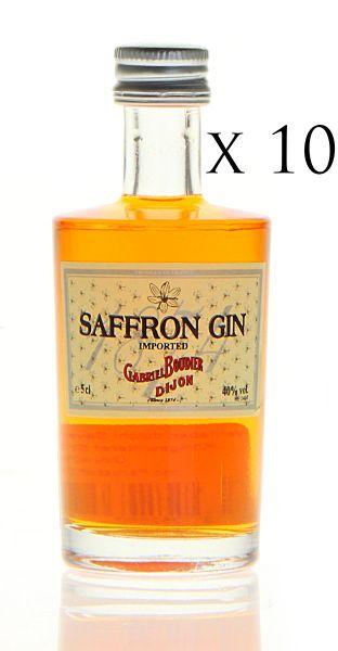 SAFFRON Gin 10-Miniaturen-Set