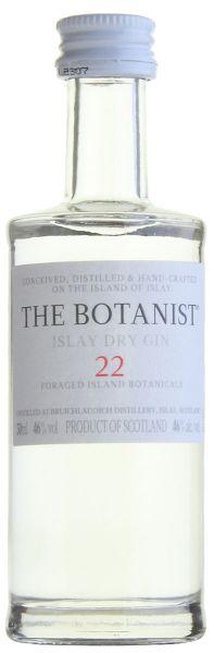 122,00€/L THE BOTANIST Islay Dry Gin Miniatur
