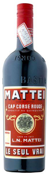 MATTEI Cap Corse Rouge Aperitif au Quinquina LE SEUL VRAI