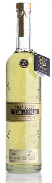 VILLA LOBOS Añejo Tequila 100% Agave