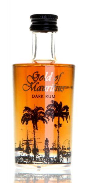 Gold of Mauritius Dark Rum Miniatur