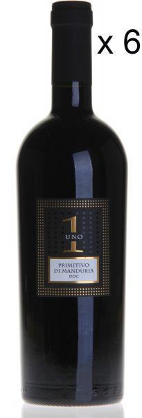 UNO Primitivo di Manduria 6-Flaschen-Set