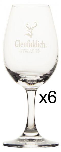 6 x Glenfiddich Nosing Glas