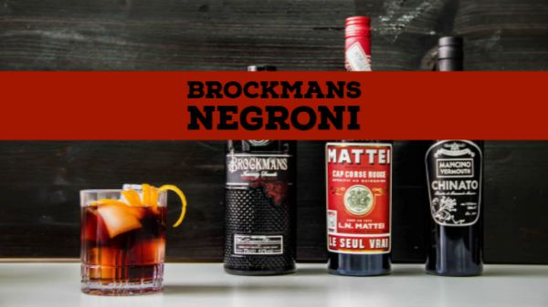 Brockmans Negroni
