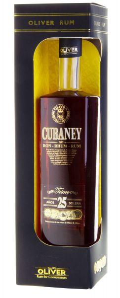 59,99€/L Ron Cubaney Gran Reserva Tesoro Rum 25 Y.O.