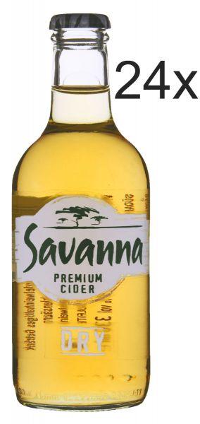 Savanna Dry Cider Set 24x330ml