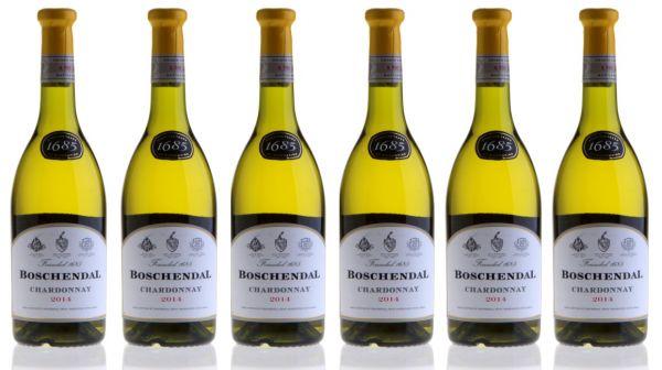 BOSCHENDAL Chardonnay Weißwein 6-Flaschen-Set