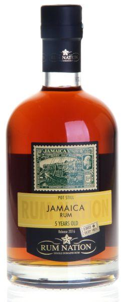 61,41€/L RUM NATION Jamaica 5 Jahre Rum Oloroso Finish