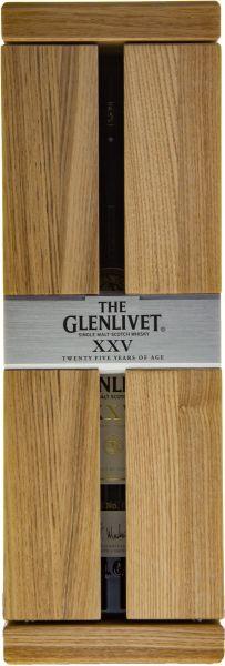 The GLENLIVET 25 years Single Malt Scotch Whisky