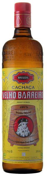 VELHO BARREIRO Silver Cachaça