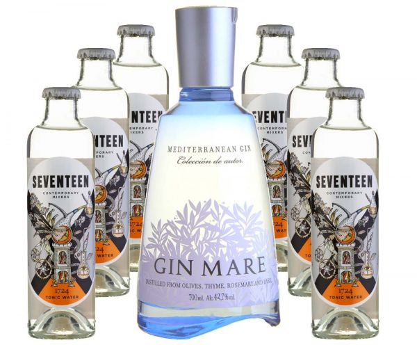 GIN MARE & Tonic Set (6 Tonic Waters)