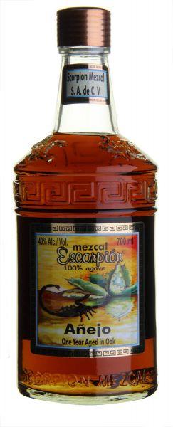 SCORPION Mezcal ANEJO mit echtem Skorpion