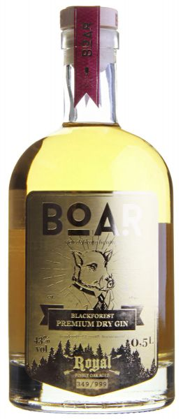Boar Royal Gold Premium Dry Gin - Limited Edition