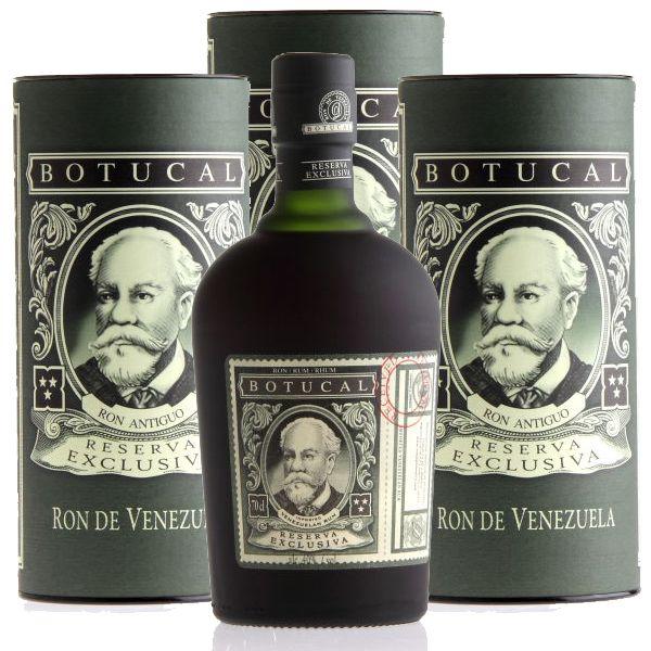 Ron BOTUCAL Reserva Exclusiva Rum mit Geschenkbox (runde Dose)