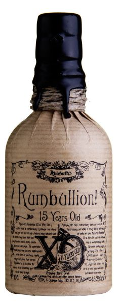 189,00€/L ABLEFORTH`S Rumbullion! XO 15 Years Old Miniatur