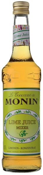 Monin LIME JUICE Cordial