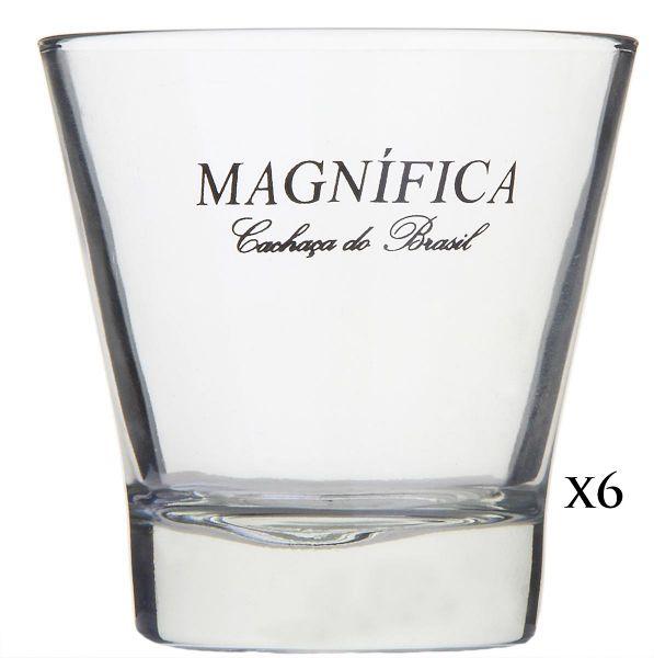6 x MAGNÍFICA Caipirinha Gläser 300ml
