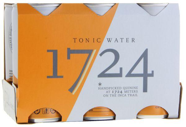 11,42€/L 1724 Tonic Water 6 x 200ml