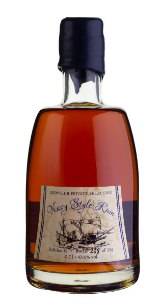 RUMCLUB PRIVATE SELECTION Ed. 15 Navy Style Rum