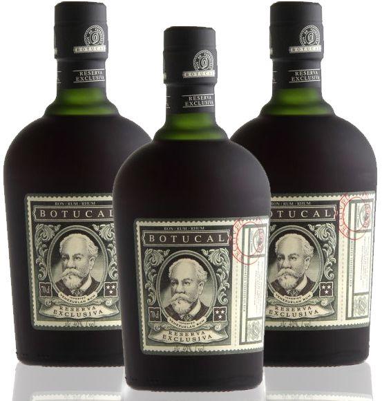 50,00€/L 3 x Ron BOTUCAL Reserva Exclusiva Rum