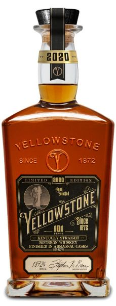 YELLOWSTONE Kentucky Straight Bourbon Whiskey Finished in Armagnac Casks 2020 Limited Edition