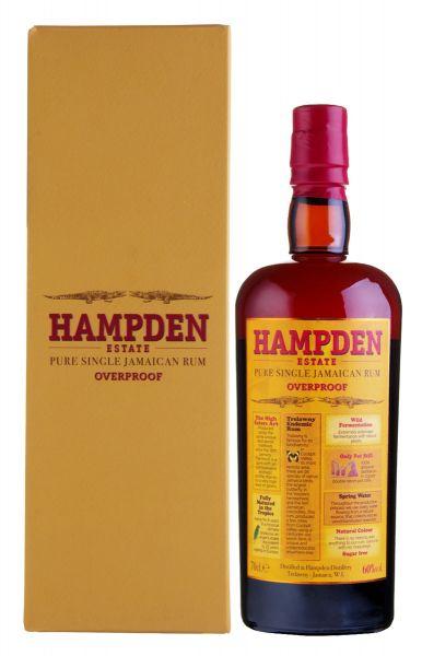 HAMPDEN ESTATE Overproof Pure Single Jamaican Rum