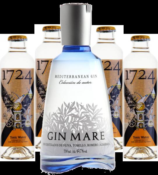 GIN MARE & Tonic Set (4 Tonic Waters)