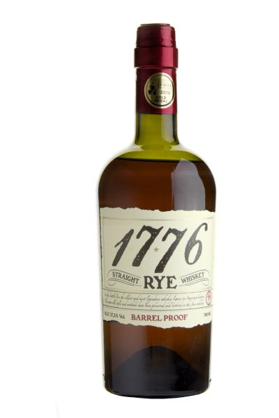 61,29€/L 1776 Straight Rye Whiskey Barrel Proof