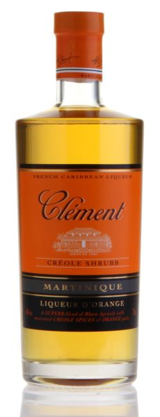 CLÉMENT Créole Shrubb LIQUEUR d'Orange Traditionnel Martinique