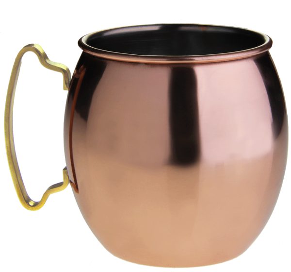 11,99€/St. Coppermug / Kupferbecher HELL + GLATT
