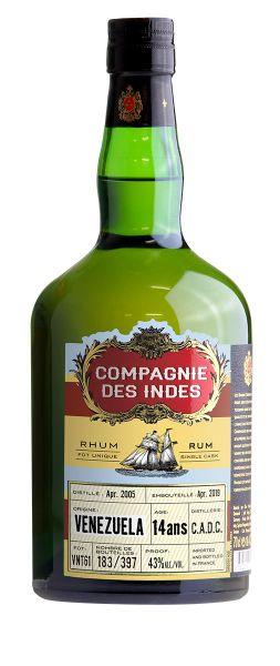 Compagnie des Indes VENEZUELA 14 Year Old Rum (C.A.D.C. Distillery)