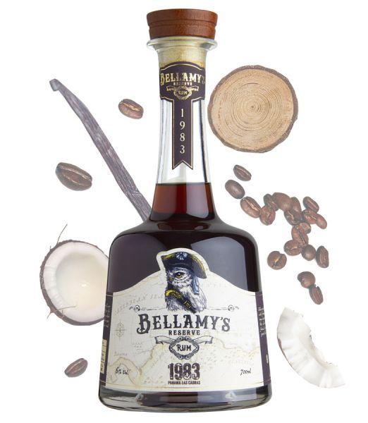 BELLAMY'S RESERVE RUM 1983 Panama   Las Cabras Distillery   37YO Single Cask (Ex-Bourbon Cask) Dist