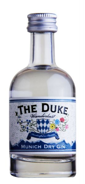 79,80€/L The Duke Munich Dry Wanderlust Gin Miniatur