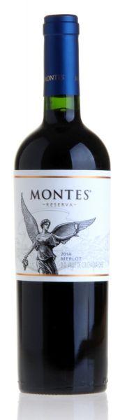 MONTES Merlot Reserva Rotwein