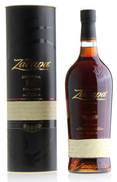 Ron ZACAPA Centenario Sistema Solera 23 Gran Reserva Rum