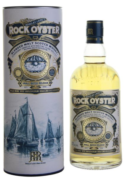 Douglas Laing's ROCK OYSTER Whisky mit Geschenkverpackung