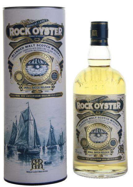 68,29€/L Douglas Laing's ROCK OYSTER Whisky mit Geschenkverpackung