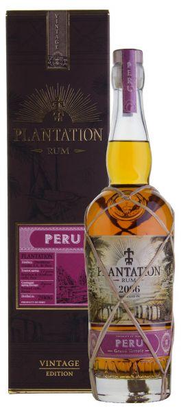 54,27€/L PLANTATION Peru 2006 Vintage Edition Rum