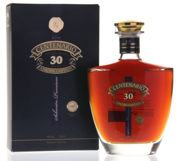 Ron CENTENARIO Edicion Limitada 30 Años Rum