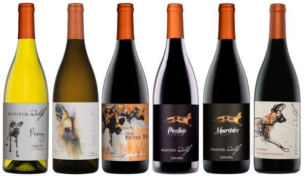 PAINTED WOLF Weinpaket Südafrika SELECT (6 x 750ml)