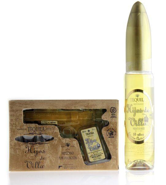 HIJOS DE VILLA Tequila Reposado Set (Pistole 200ml + Patrone